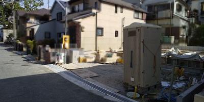 【前面道路含む現地写真】神戸市垂水区東垂水町 新築戸建