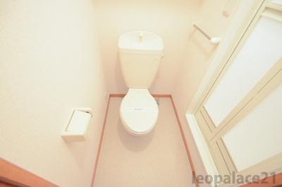 【トイレ】レオパレスマウントテンプル