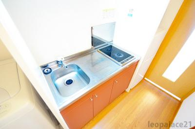 【キッチン】レオパレス梅北フィオーレ