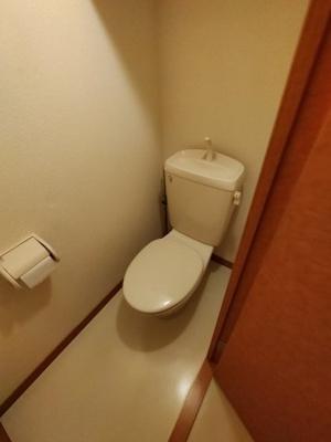 【トイレ】レオパレス夢3番館