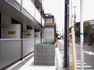 【バルコニー】レオパレスグリーンメゾン