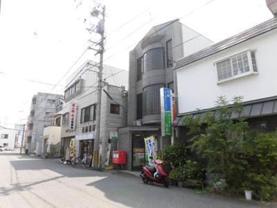 松山土橋郵便局 907m