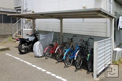 【駐車場】ニュープレジールハイツ