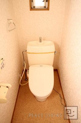 【トイレ】ニュープレジールハイツ