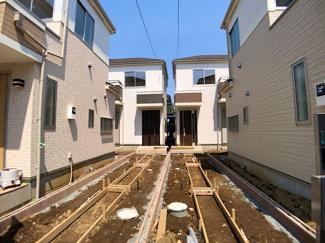 人気の船橋市二宮の閑静な住宅街に立地です。