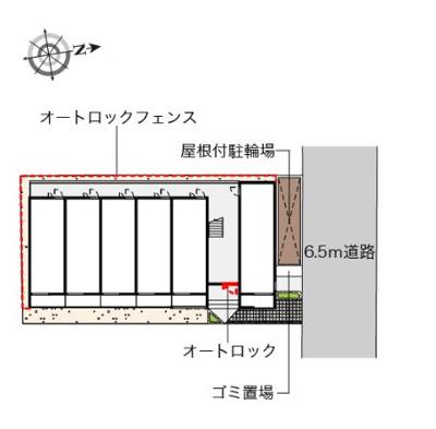 【区画図】紫陽花