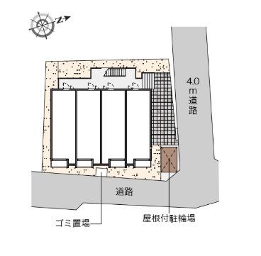 【地図】ヒルズ上大岡