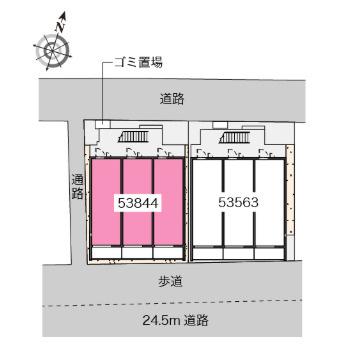 【区画図】ブランドール根岸