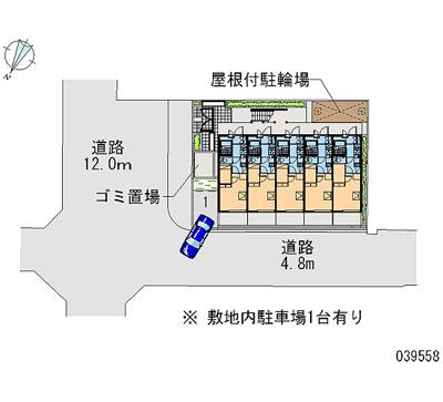 【地図】レオパレスTOWA