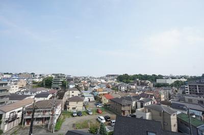 【東芝馬場町コーポ 304】 お部屋からの眺望は高台なので眺めが良いです