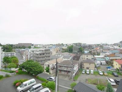【東芝馬場町コーポ 304】お部屋からの眺望は高台なので眺めが良いです