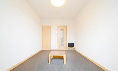 1階はフローリング、2階はカーペットになります。同タイプのお部屋の写真です。