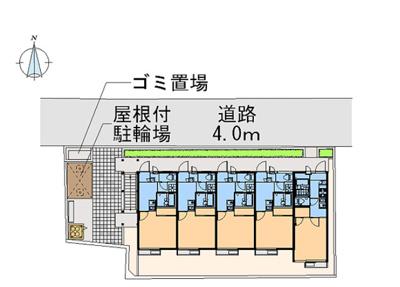 【区画図】ラッキーサン横浜