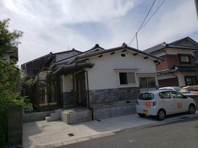 【外観】鳥取市青葉町3丁目中古戸建て