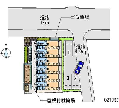 【地図】レオパレスクレール猪名寺