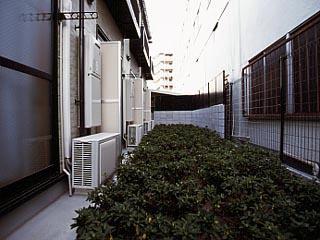 【バルコニー】レオパレス北巽駅北
