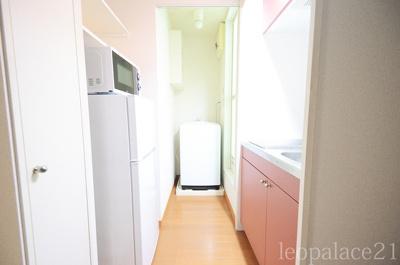 【キッチン】レオパレスオアシス