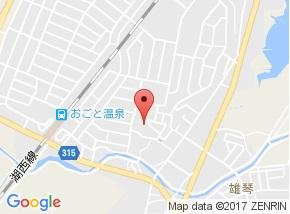 【地図】雄琴3貸家 T邸