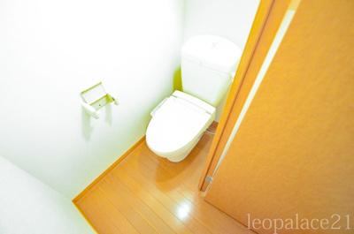【トイレ】レオパレスカナール