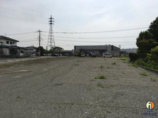 【駐車場】筑後市 角地 貸地 500坪以上