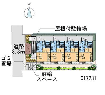 【区画図】レオパレスIMAGOⅡ