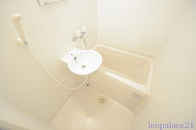 【浴室】レオパレス竹園