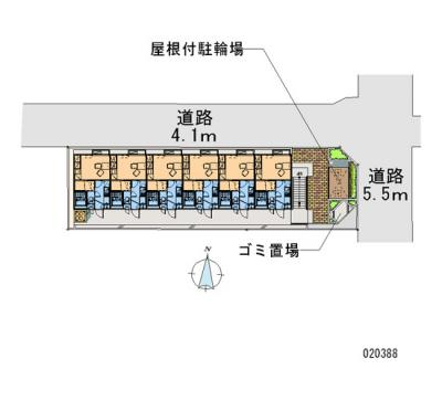 【区画図】レオパレスシンフォニー