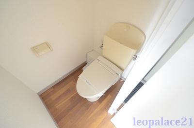【トイレ】レオパレスコーラルⅠ