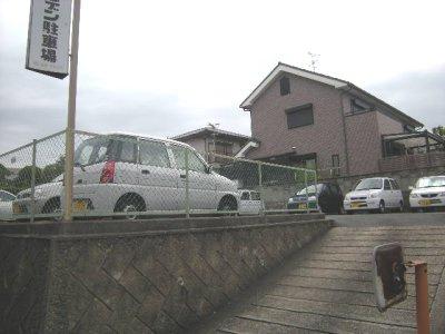 【内装】ローズガーデン駐車場