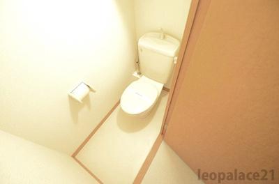 【トイレ】レオパレススリーアローズ