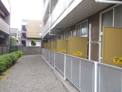 【バルコニー】レオパレスアイビーハウス