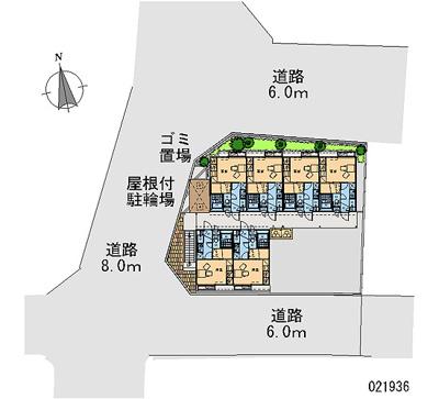 【区画図】レオパレスエクセルライフ