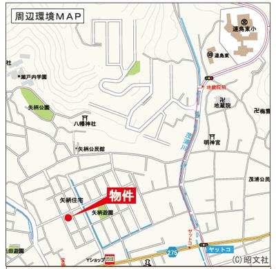 【地図】リーブルガーデン倉敷・連島町矢柄第2 2号棟