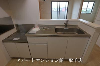 【キッチン】エスポワールⅡ