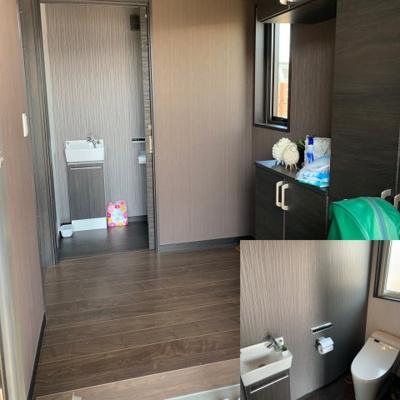 【トイレ】大野原町貸戸建て