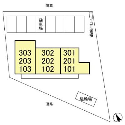 【区画図】アネーロ・チヨ
