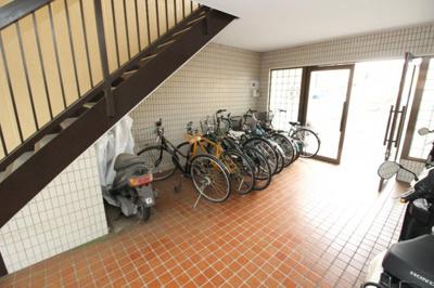 駐輪場&バイク置き場