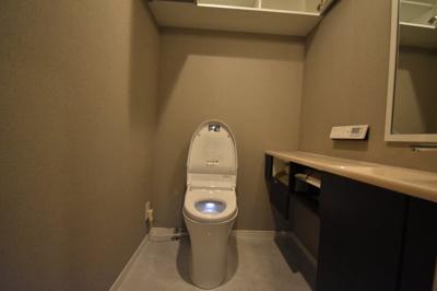 【トイレ】西麻布 2020フルリノベーション工事 レジディア西麻布