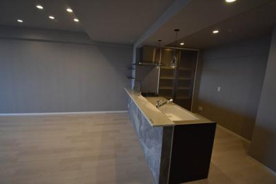 この部屋自慢のキッチンです。
