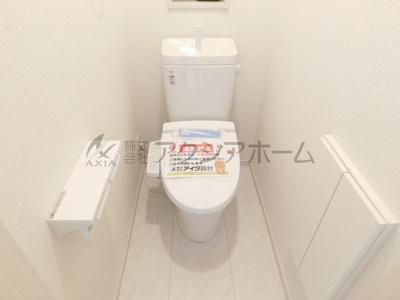 【トイレ】入間市高倉5丁目・全6棟 新築一戸建 1号棟