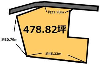 【土地図】杉の井 2,395万円