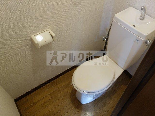 プレジール八尾南 トイレ