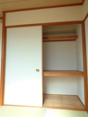 和室6畳 押し入れ