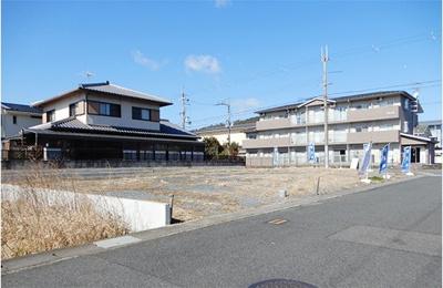 【外観】岩倉北桑原町 売土地(角地)