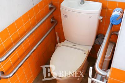 野田市宮崎 店舗・事務所のトイレです