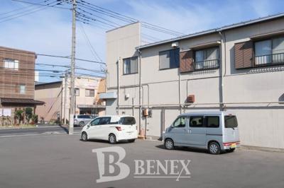 野田市宮崎 店舗・事務所の駐車場です