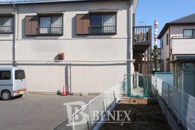野田市宮崎 店舗・事務所の外観です