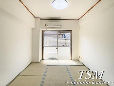 エアコン付きの和室