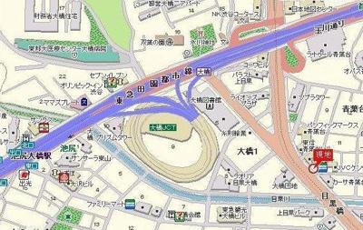 【地図】ジェイパーク青葉台弐番館