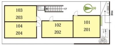 【区画図】MAC国立ステーション